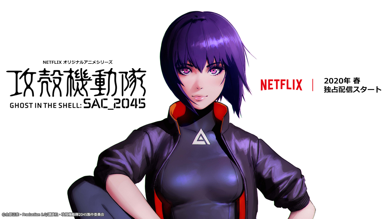 Ghost In The Shell Sac 2045 Works Sola Digital Arts Inc